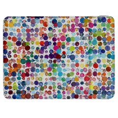 Colorful Splatters         Htc One M7 Hardshell Case by LalyLauraFLM