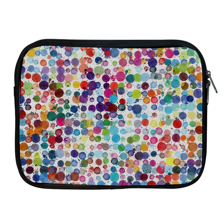 Colorful splatters         Apple iPad 2/3/4 Protective Soft Case