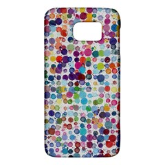 Colorful Splatters         Htc One M9 Hardshell Case by LalyLauraFLM