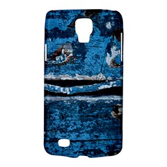 Blue Painted Wood          Samsung Galaxy Ace 3 S7272 Hardshell Case by LalyLauraFLM