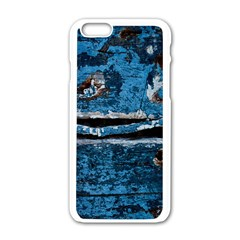 Blue Painted Wood          Motorola Moto E Hardshell Case by LalyLauraFLM