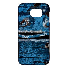 Blue Painted Wood          Htc One M9 Hardshell Case by LalyLauraFLM