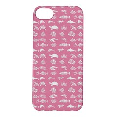 Fish Pattern Apple Iphone 5s/ Se Hardshell Case by ValentinaDesign