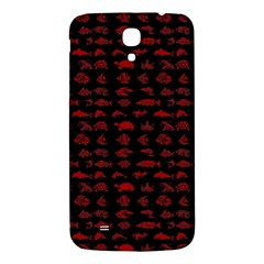 Fish Pattern Samsung Galaxy Mega I9200 Hardshell Back Case by ValentinaDesign