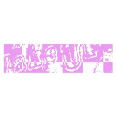 Pink Graffiti Skull Satin Scarf (oblong) by Skulltops