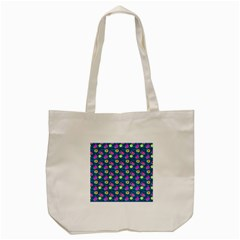 Summer Pattern Tote Bag (cream) by ValentinaDesign