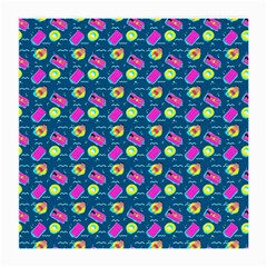Summer Pattern Medium Glasses Cloth (2 Side) by ValentinaDesign