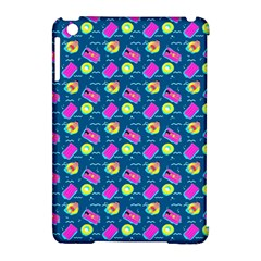 Summer Pattern Apple Ipad Mini Hardshell Case (compatible With Smart Cover) by ValentinaDesign