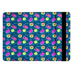 Summer Pattern Samsung Galaxy Tab Pro 12 2  Flip Case by ValentinaDesign