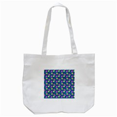 Summer Pattern Tote Bag (white) by ValentinaDesign