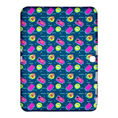 Summer Pattern Samsung Galaxy Tab 4 (10 1 ) Hardshell Case  by ValentinaDesign