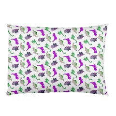 Dinosaurs Pattern Pillow Case by ValentinaDesign