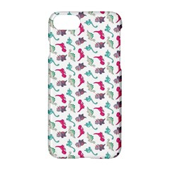 Dinosaurs Pattern Apple Iphone 7 Hardshell Case by ValentinaDesign