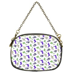 Dinosaurs Pattern Chain Purses (two Sides)