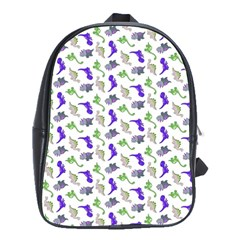 Dinosaurs Pattern School Bags(large)  by ValentinaDesign