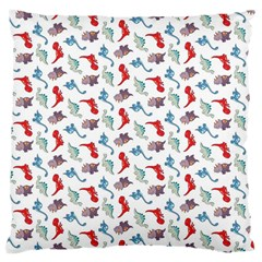 Dinosaurs Pattern Large Cushion Case (two Sides)