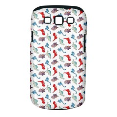 Dinosaurs Pattern Samsung Galaxy S Iii Classic Hardshell Case (pc+silicone)