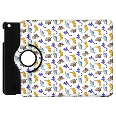 Dinosaurs Pattern Apple Ipad Mini Flip 360 Case by ValentinaDesign