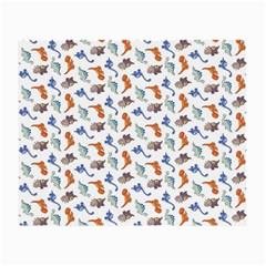 Dinosaurs Pattern Small Glasses Cloth by ValentinaDesign