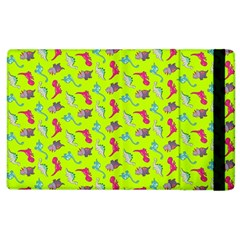 Dinosaurs Pattern Apple Ipad 2 Flip Case by ValentinaDesign