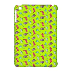 Dinosaurs Pattern Apple Ipad Mini Hardshell Case (compatible With Smart Cover) by ValentinaDesign