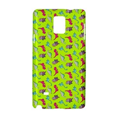 Dinosaurs Pattern Samsung Galaxy Note 4 Hardshell Case by ValentinaDesign