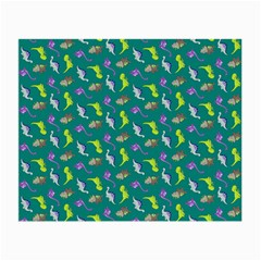Dinosaurs Pattern Small Glasses Cloth (2 Side) by ValentinaDesign