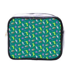 Dinosaurs Pattern Mini Toiletries Bags by ValentinaDesign