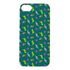 Dinosaurs Pattern Apple Iphone 5s/ Se Hardshell Case by ValentinaDesign