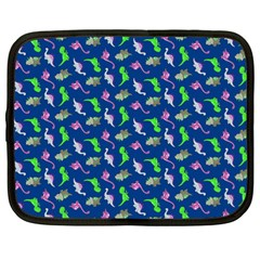 Dinosaurs Pattern Netbook Case (large) by ValentinaDesign