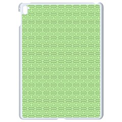 Pattern Apple Ipad Pro 9 7   White Seamless Case by ValentinaDesign