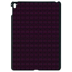 Pattern Apple Ipad Pro 9 7   Black Seamless Case by ValentinaDesign