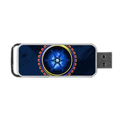 Power Core Portable Usb Flash (one Side)