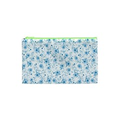 Floral Pattern Cosmetic Bag (xs) by ValentinaDesign