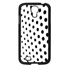 Polka Dot Black Circle Samsung Galaxy S4 I9500/ I9505 Case (black) by Mariart