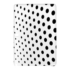 Polka Dot Black Circle Samsung Galaxy Tab Pro 12 2 Hardshell Case by Mariart