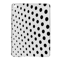 Polka Dot Black Circle Ipad Air 2 Hardshell Cases by Mariart