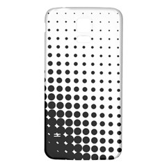 Comic Dots Polka Black White Samsung Galaxy S5 Back Case (white) by Mariart