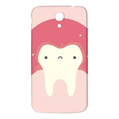 Sad Tooth Pink Samsung Galaxy Mega I9200 Hardshell Back Case by Mariart