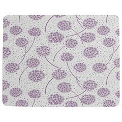 Purple Tulip Flower Floral Polkadot Polka Spot Jigsaw Puzzle Photo Stand (rectangular) by Mariart
