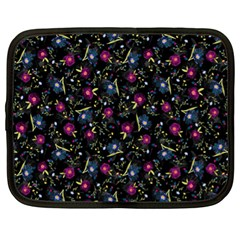 Floral Pattern Netbook Case (xl)  by ValentinaDesign