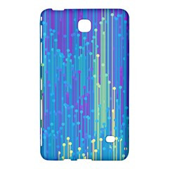 Vertical Behance Line Polka Dot Blue Green Purple Samsung Galaxy Tab 4 (8 ) Hardshell Case  by Mariart