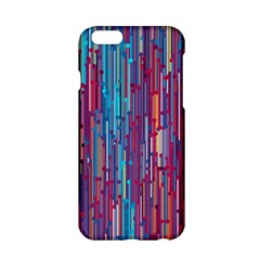 Vertical Behance Line Polka Dot Blue Green Purple Red Blue Black Apple Iphone 6/6s Hardshell Case by Mariart
