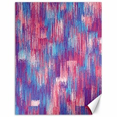 Vertical Behance Line Polka Dot Blue Green Purple Red Blue Small Canvas 18  X 24   by Mariart