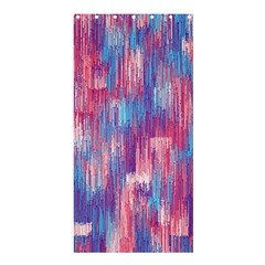 Vertical Behance Line Polka Dot Blue Green Purple Red Blue Small Shower Curtain 36  X 72  (stall)  by Mariart