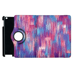 Vertical Behance Line Polka Dot Blue Green Purple Red Blue Small Apple Ipad 2 Flip 360 Case by Mariart