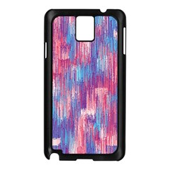 Vertical Behance Line Polka Dot Blue Green Purple Red Blue Small Samsung Galaxy Note 3 N9005 Case (black) by Mariart