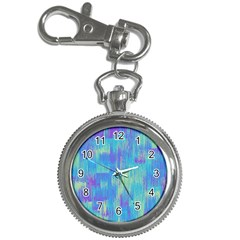 Vertical Behance Line Polka Dot Purple Green Blue Key Chain Watches by Mariart