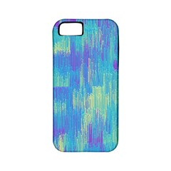Vertical Behance Line Polka Dot Purple Green Blue Apple Iphone 5 Classic Hardshell Case (pc+silicone) by Mariart