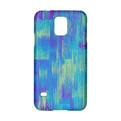 Vertical Behance Line Polka Dot Purple Green Blue Samsung Galaxy S5 Hardshell Case  by Mariart